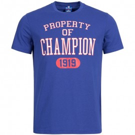 Tee-shirt Bleu Homme Champion