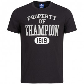 Tee-shirt Noir Homme Champion