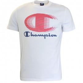 Tee-shirt Blanc Homme Champion