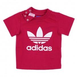 Tee-shirt Trefoil Rose Bébé Fille Adidas