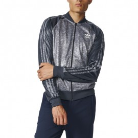 Veste Superstar TT Gris Homme Adidas