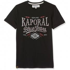 Tee-shirt Naker Noir Garçon Kaporal