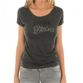 Tee-shirt Bayou Gris Femme Kaporal