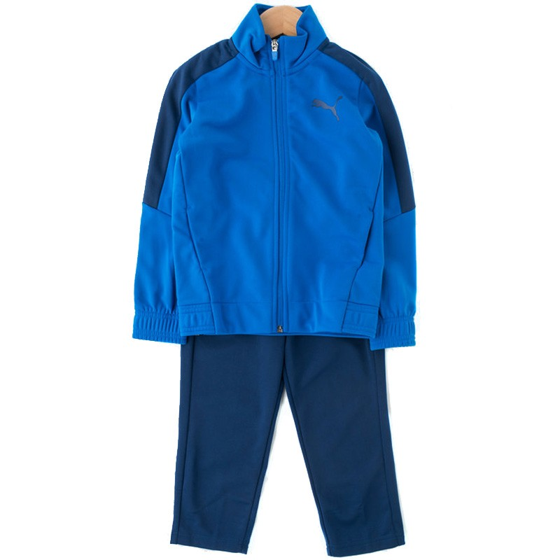 popular brand 100% genuine recognized brands Survêtement Tricot Bleu Garçon Puma