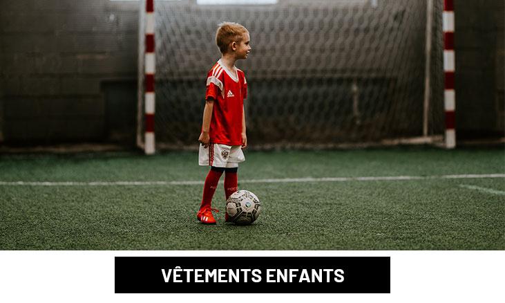 Vêtements de foot enfant pas cher | Espace des Marques